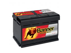 Autobaterie Banner Power Bull P74 12, 74Ah, 12V ( P7412 ), technologie Ca/Ca