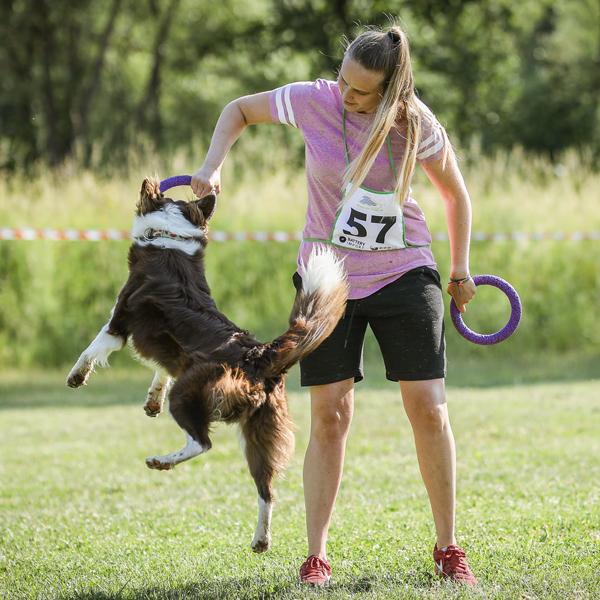Nabitý sport pro psy - sponzoring
