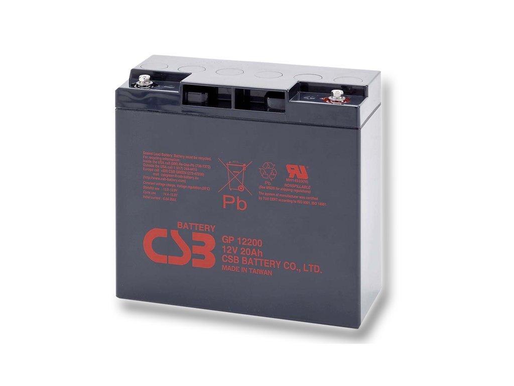 Baterie CSB GP12200, 12V, 20Ah