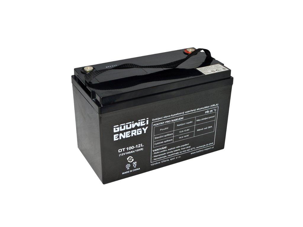 Trakční (GEL) baterie GOOWEI ENERGY OTL100-12, 100Ah, 12V