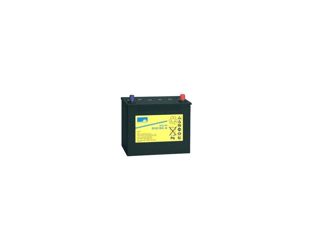 Gelový trakční akumulátor SONNENSCHEIN S12/60 A, 12V, C5/42.5Ah, C20/50Ah