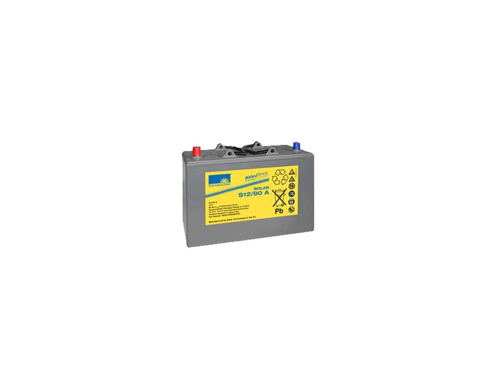 Gelový trakční akumulátor SONNENSCHEIN S12/90 A, 12V, C5/72Ah, C20/84Ah