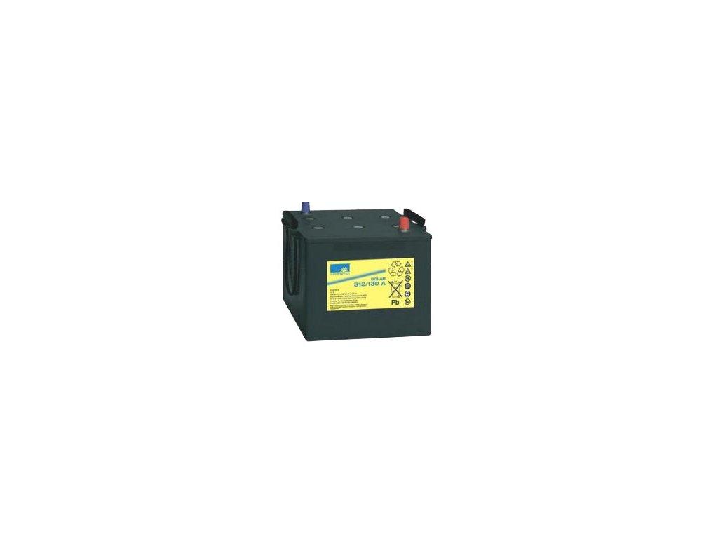 Gelový trakční akumulátor SONNENSCHEIN S12/130 A, 12V, C5/93.5Ah, C20/110Ah