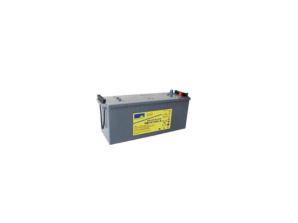 Gelový trakční akumulátor SONNENSCHEIN SB 12/100 A, 12V, C5/84Ah, C20/90Ah