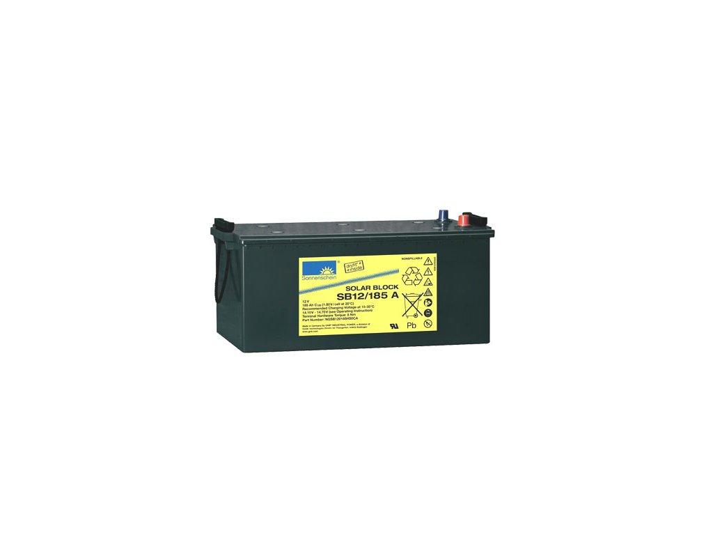 Gelový trakční akumulátor SONNENSCHEIN SB 12/185 A, 12V, C5/150Ah, C20/165Ah