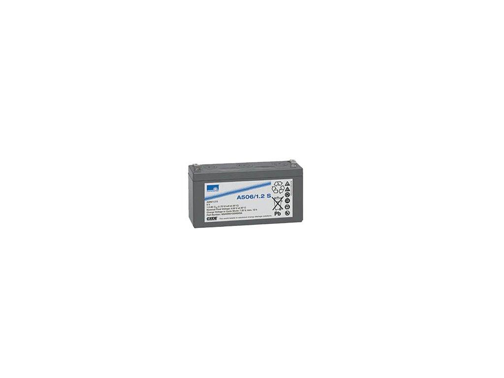 Gelový trakční akumulátor SONNENSCHEIN A506/1.2 S, 6V, 1,2Ah