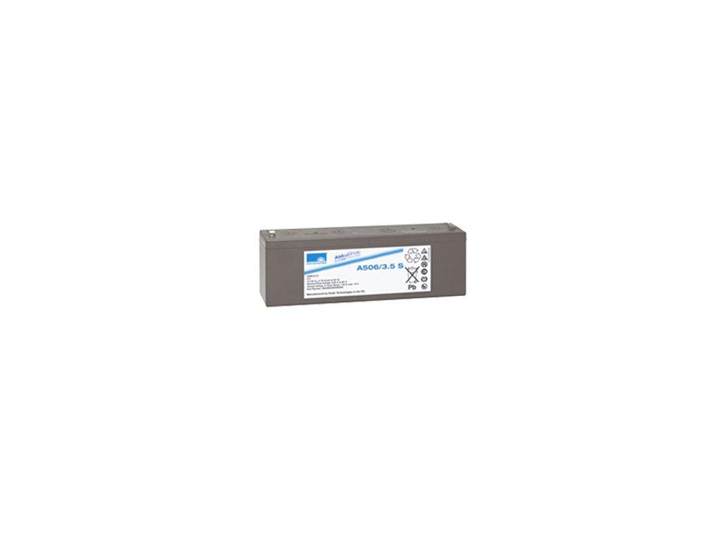 Gelový trakční akumulátor SONNENSCHEIN A506/3.5 S, 6V, 3,5Ah