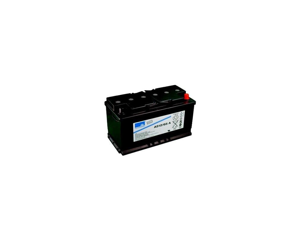 Gelový trakční akumulátor SONNENSCHEIN A512/65 A, 12V, 65Ah
