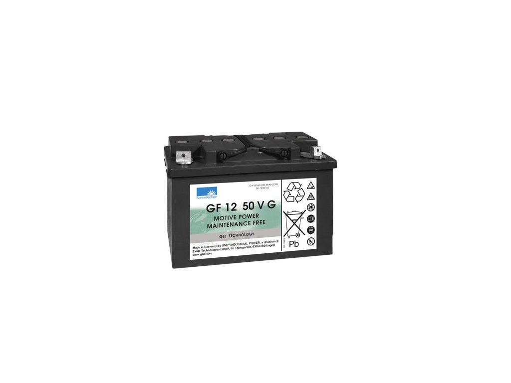 Gelový trakční akumulátor SONNENSCHEIN GF 12 050 V G, 12V, C5/50Ah, C20/55Ah