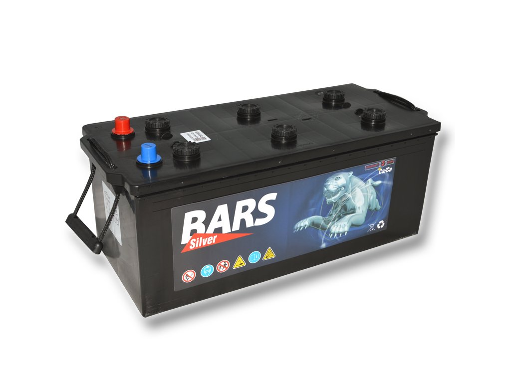 Autobaterie BARS 180Ah, 12V, 1000A (513x223x223mm), bezúdržbový