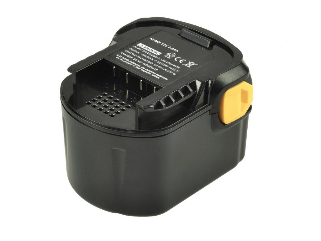 2-Power Baterie do AKU nářadí AEG BS 12 G, 12V, 3000mAh, PTH0142A