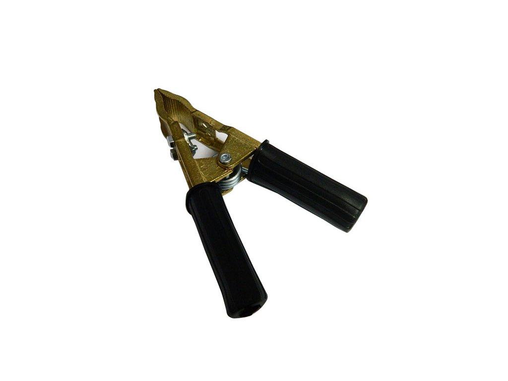 Kleště bateriové 700A, profi,černá