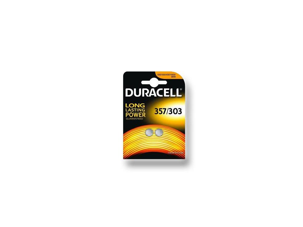 DURACELL knoflíkový článek 1.5V, D357