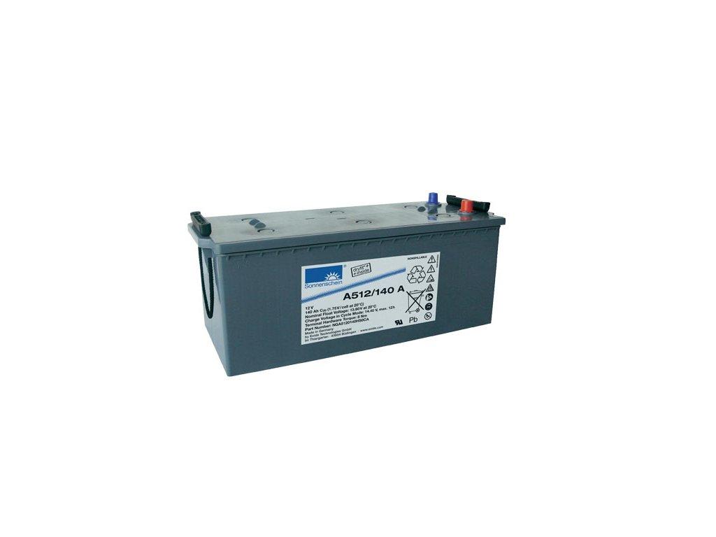 Gelový trakční akumulátor SONNENSCHEIN A512/140 A, 12V, 140Ah
