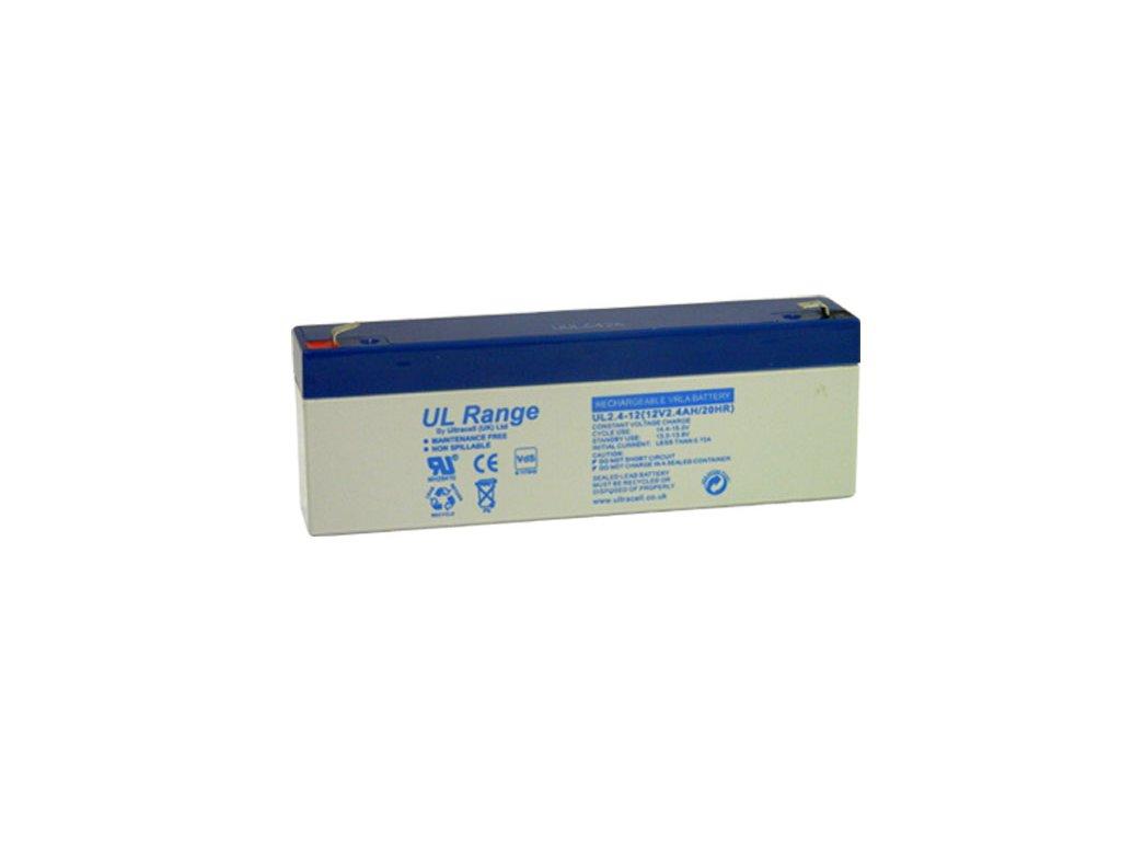 JA-80Z, náhradní baterie (1ks Ultracell UL2.4-12)