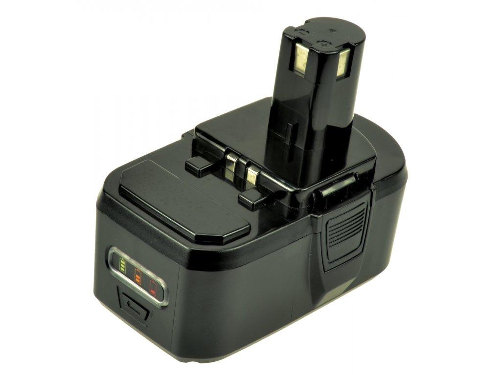 2-Power Baterie do AKU nářadí Ryobi P104, 18V, 3000mAh, PTI0117A