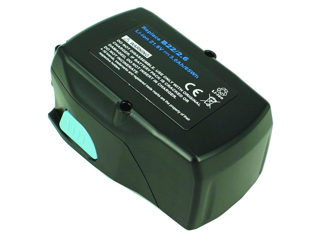 2-Power Baterie do AKU nářadí Hilti B22/2.6, 21.6V, 3000mAh, PTI0267A