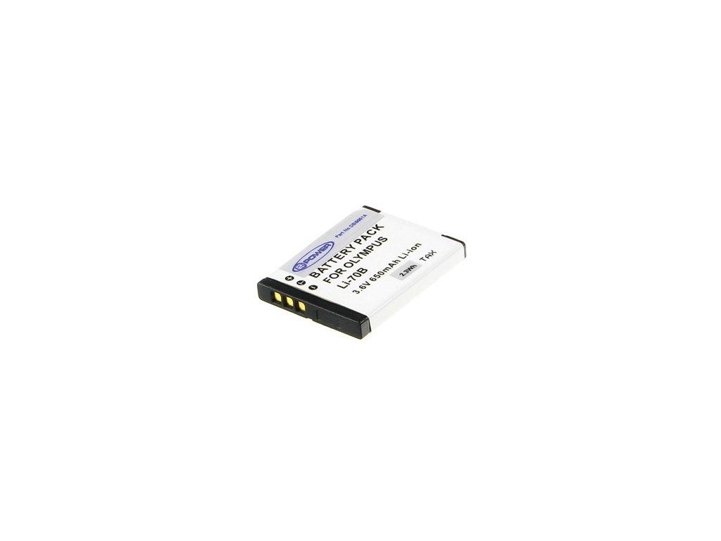 2-Power DBI9951A, 3,7 V 550 mAh, Lithium ion neoriginální