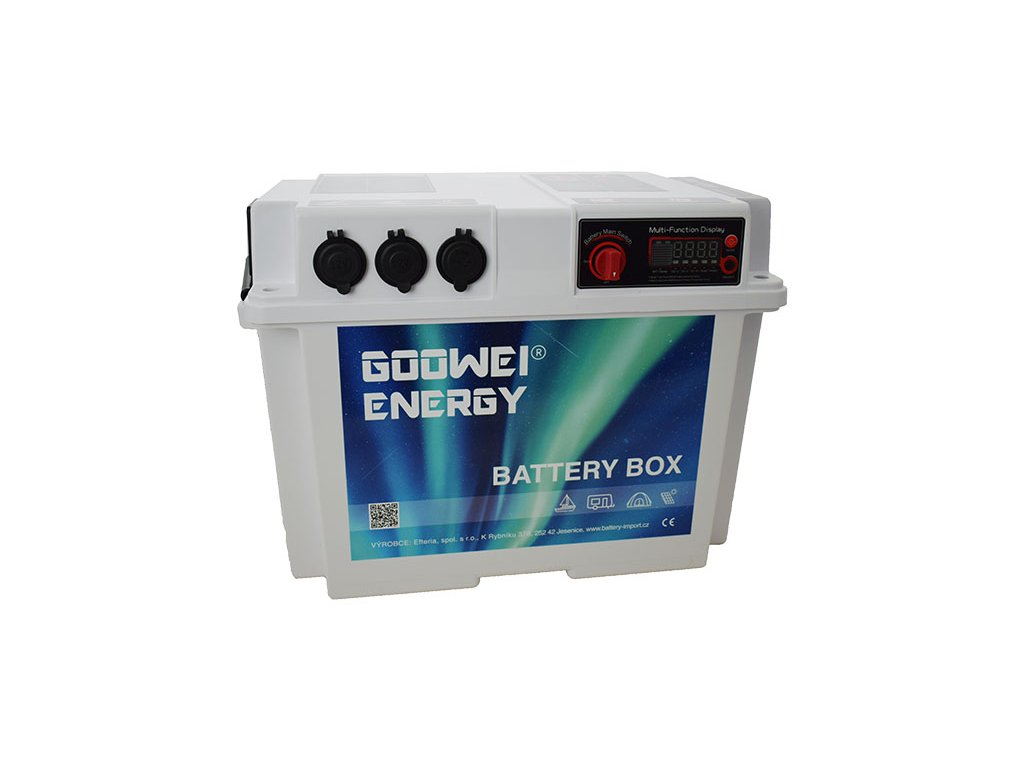Goowei Energy BATTERY BOX GBB100, 100Ah, 12V, 1000W