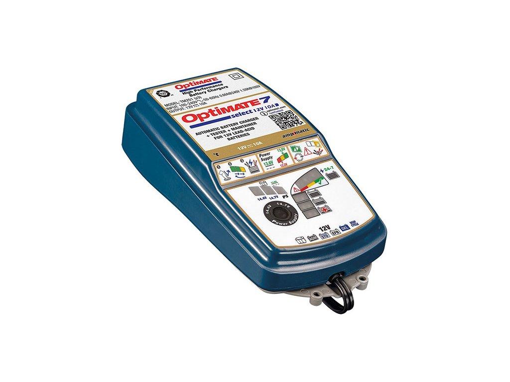 TECMATE nabíječka OPTIMATE 7 select, 12V - 10A, TM250