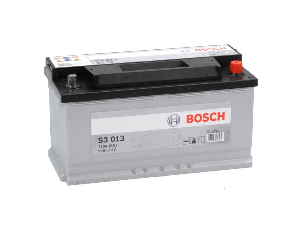 Autobaterie BOSCH S3 013, 90Ah, 12V (0 092 S30 130)