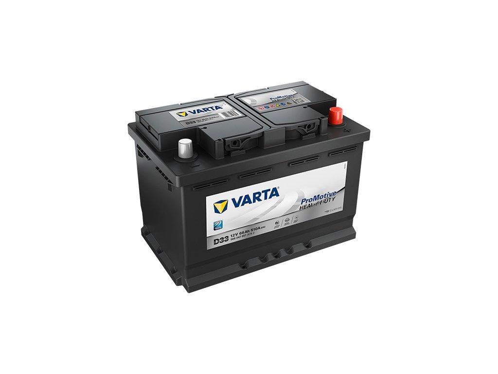 Autobaterie VARTA PROMOTIVE BLACK 66Ah, 12V, D33