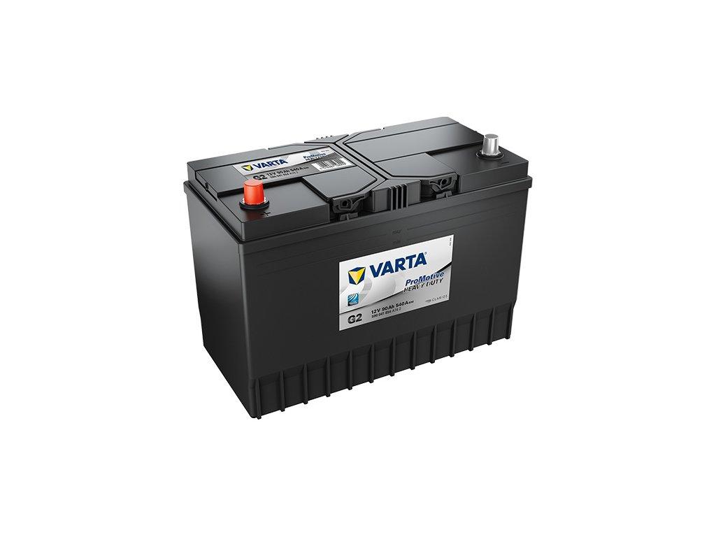 Autobaterie VARTA PROMOTIVE BLACK 90Ah, 12V, G2