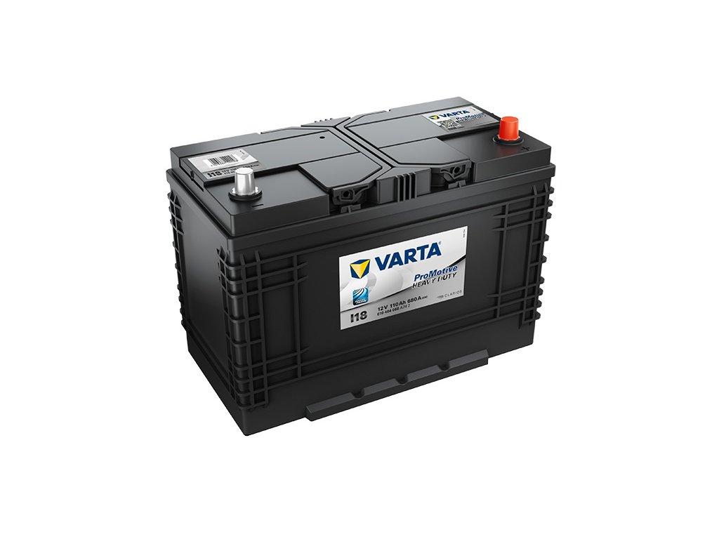 Autobaterie VARTA PROMOTIVE BLACK 110Ah, 12V, I18