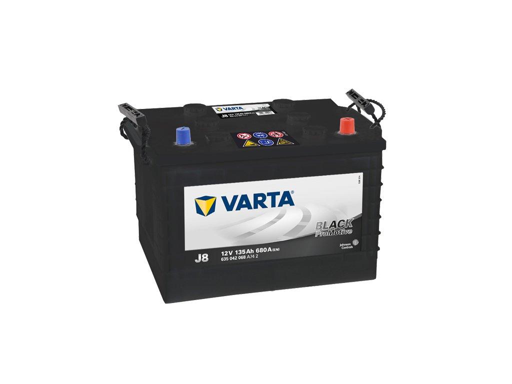 Autobaterie VARTA PROMOTIVE BLACK 135Ah, 12V, J8