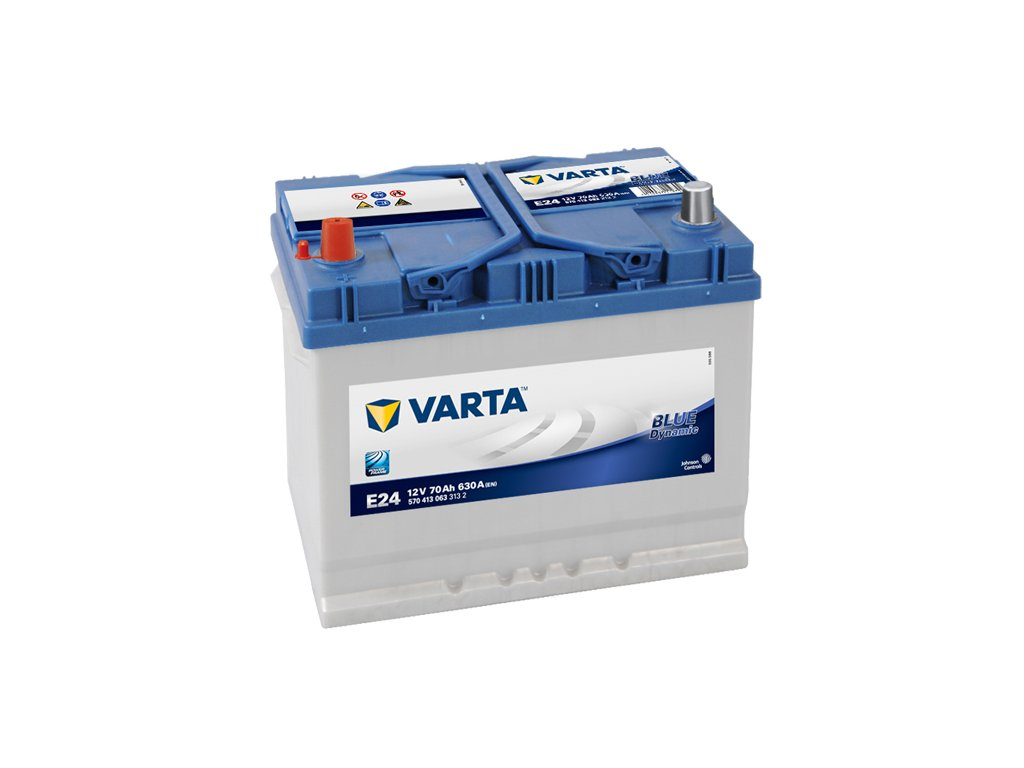 Autobaterie VARTA BLUE Dynamic 70Ah, 12V, E24