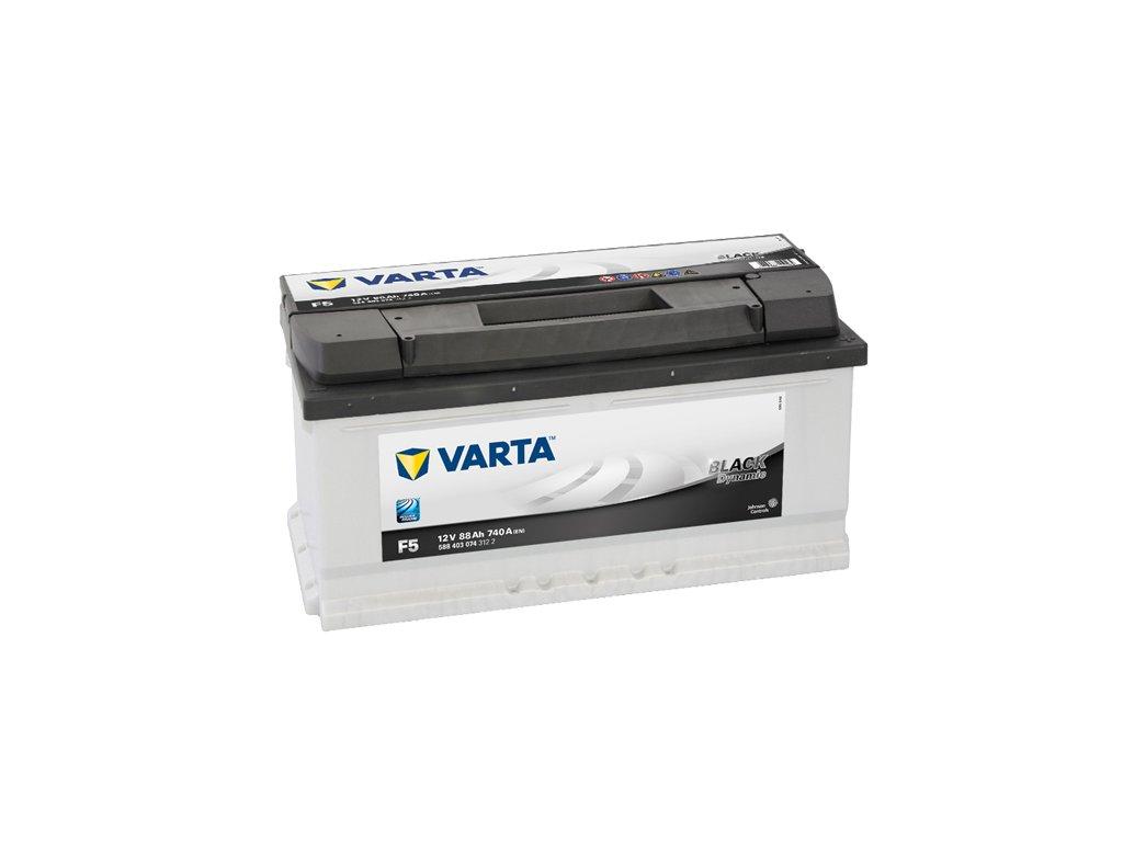 Autobaterie VARTA BLACK Dynamic 88Ah, 12V, F5