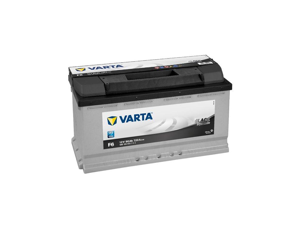 Autobaterie VARTA BLACK Dynamic 90Ah, 12V, F6