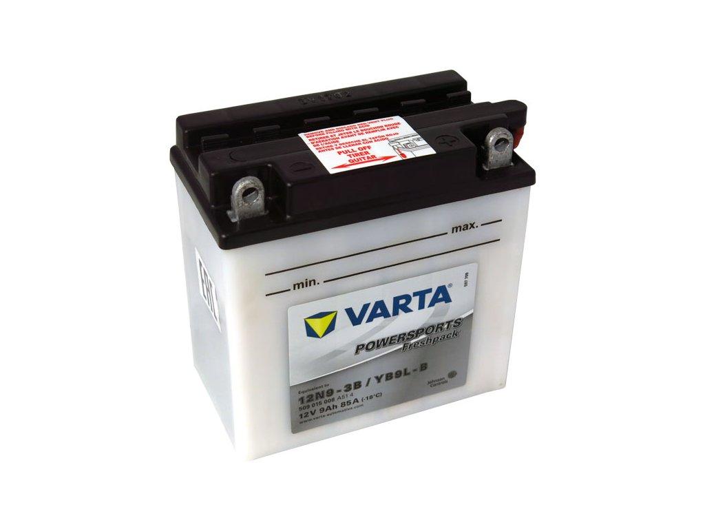 Motobaterie VARTA YB9L-B / 12N9-3B, 9Ah, 12V