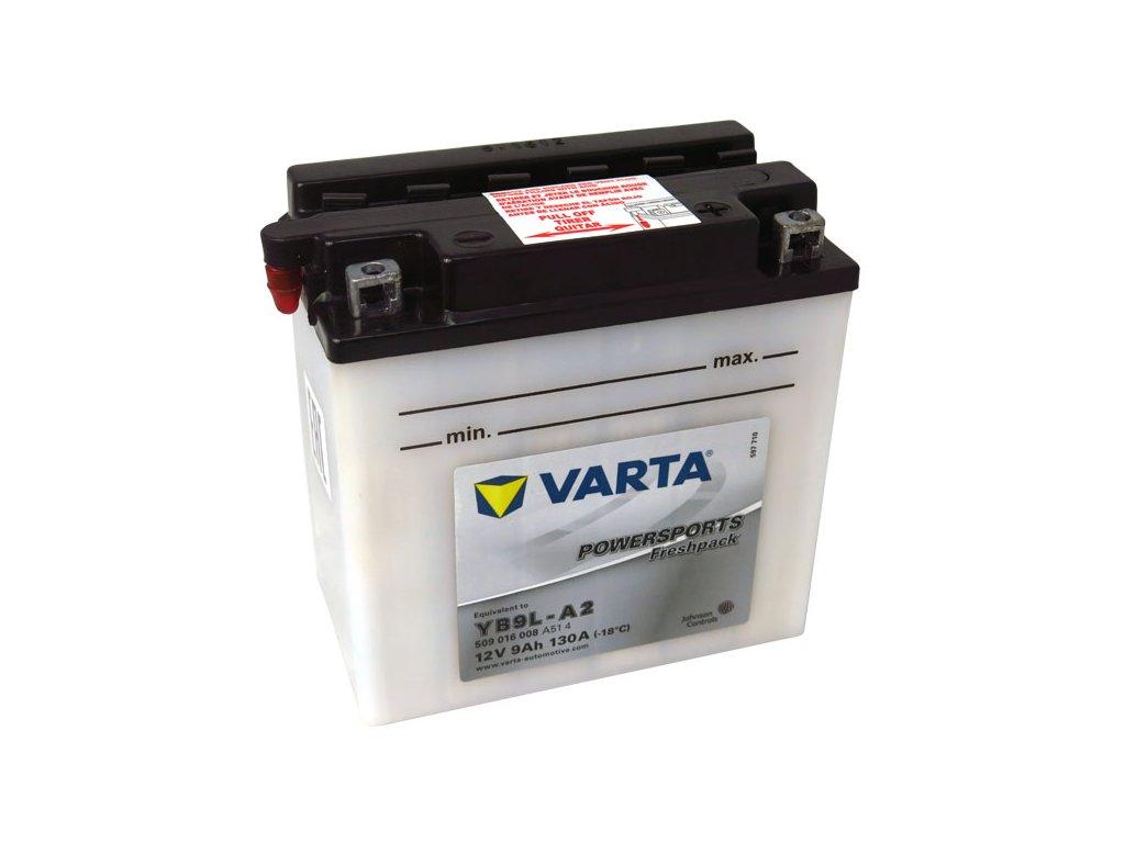 Motobaterie VARTA YB9L-A2, 9Ah, 12V