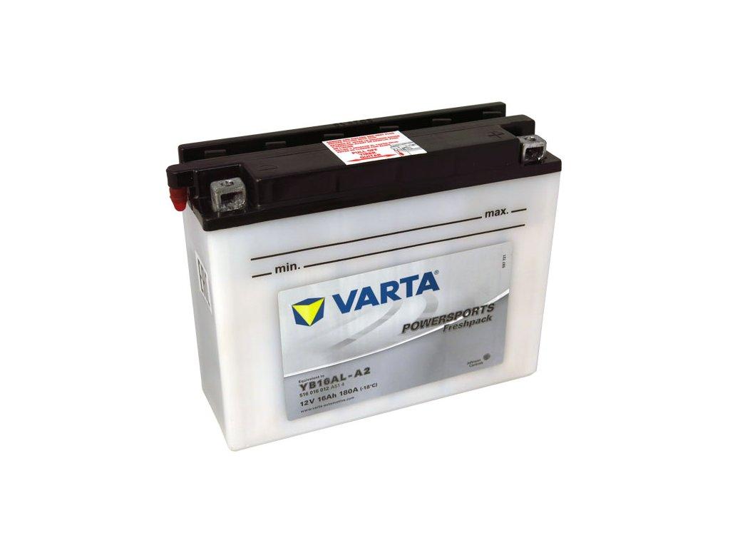 Motobaterie VARTA YB16AL-A2, 16Ah, 12V