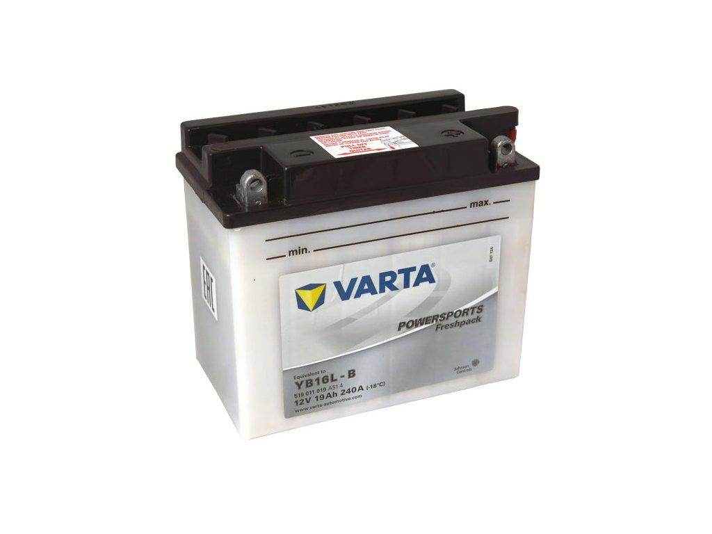 Motobaterie VARTA YB16L-B, 19Ah, 12V