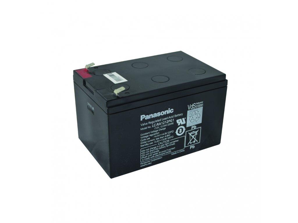 Panasonic LC-RA1212PG1, 12V-12Ah, záložní baterie