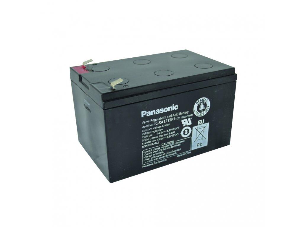 Panasonic LC-RA1215P1, 12V - 15Ah, záložní baterie
