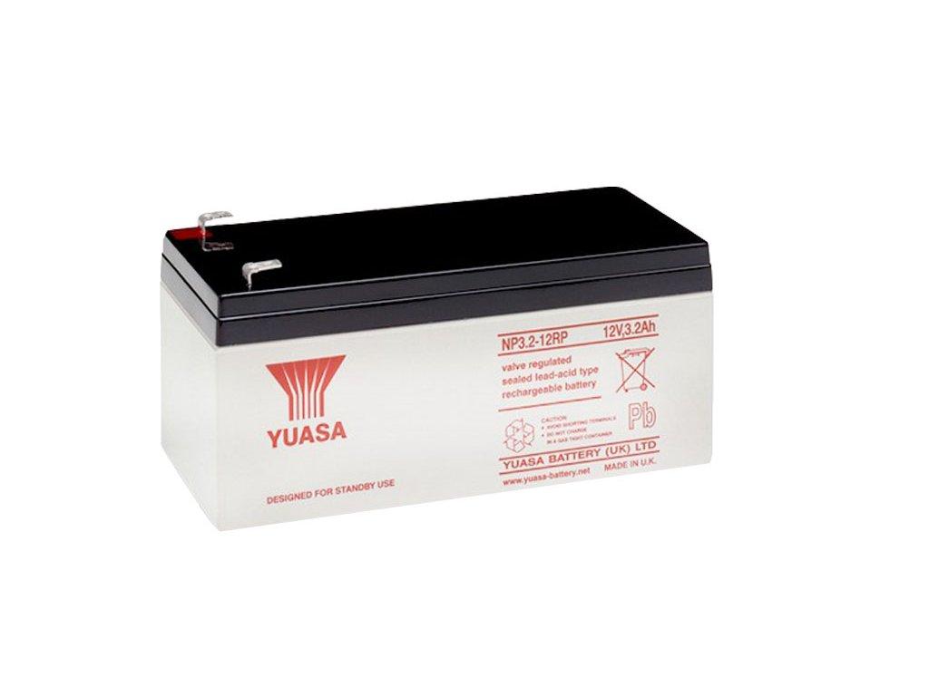 Staniční (záložní) baterie YUASA NP3.2-12,  3,2Ah, 12V
