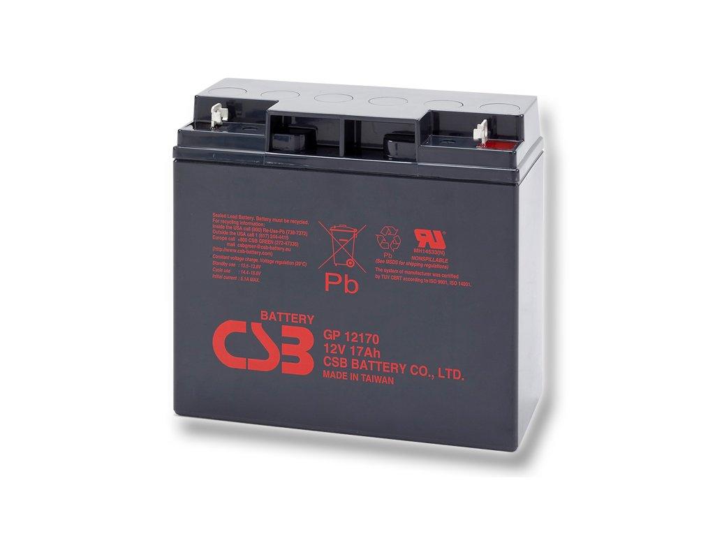 Baterie CSB GP12170, 12V, 17Ah