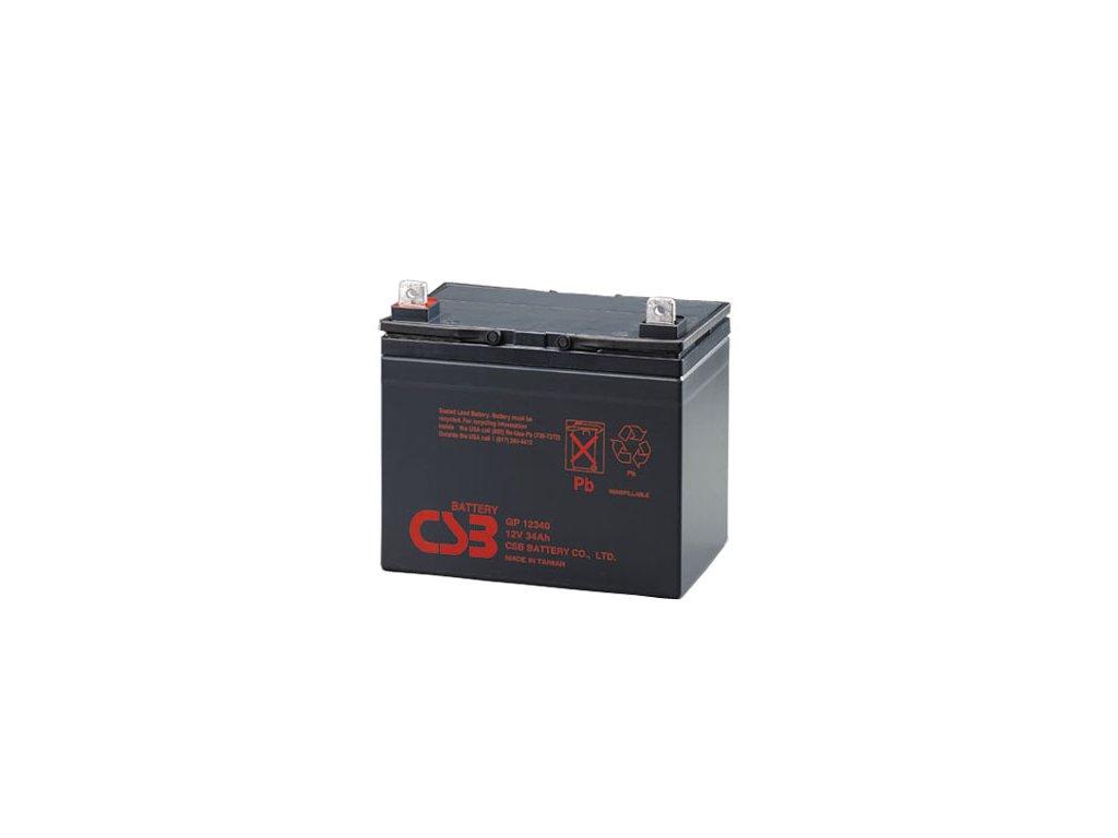 CSB Baterie GP12340, 12V, 34Ah