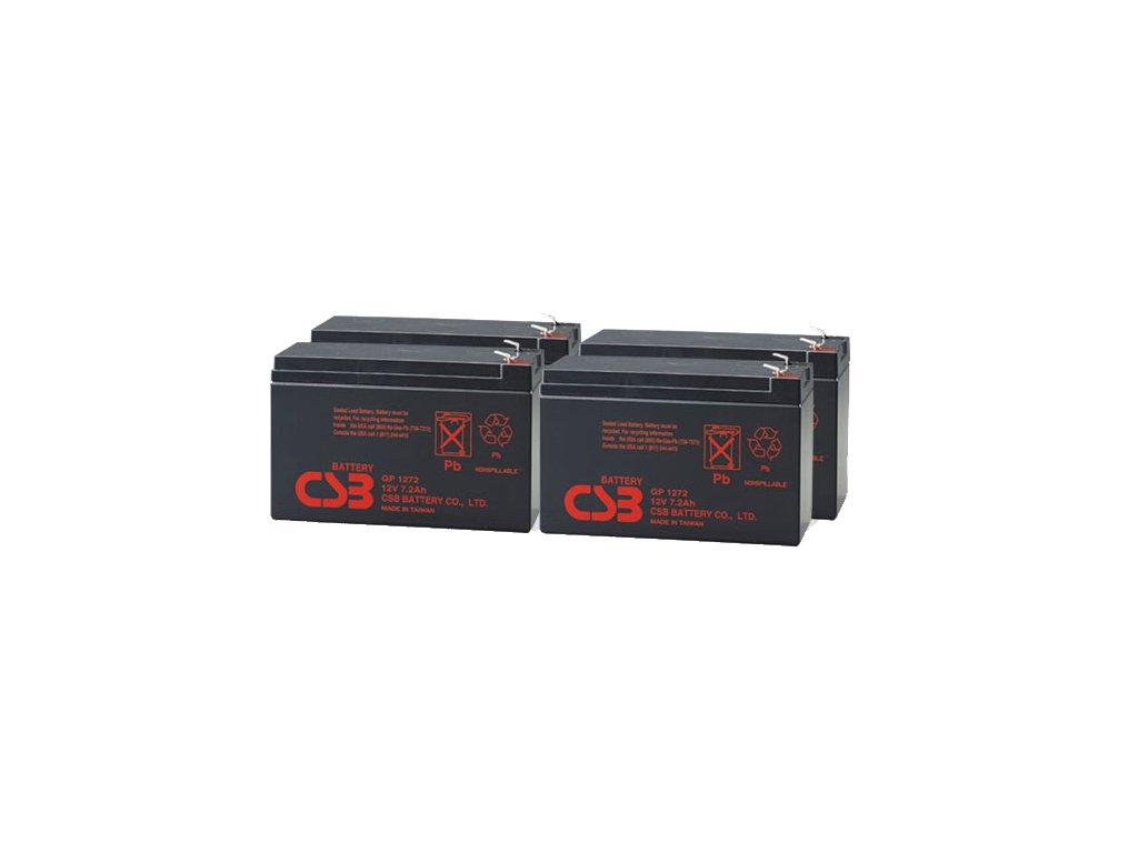 APC RBC59, alternativa bez příslušenství (4ks CSB GP1272 F2)
