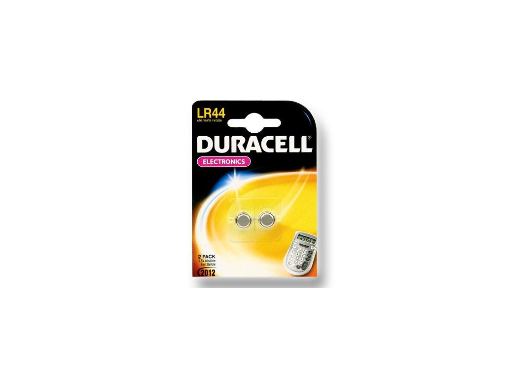 DURACELL knoflíkový článek 1.5V, LR44