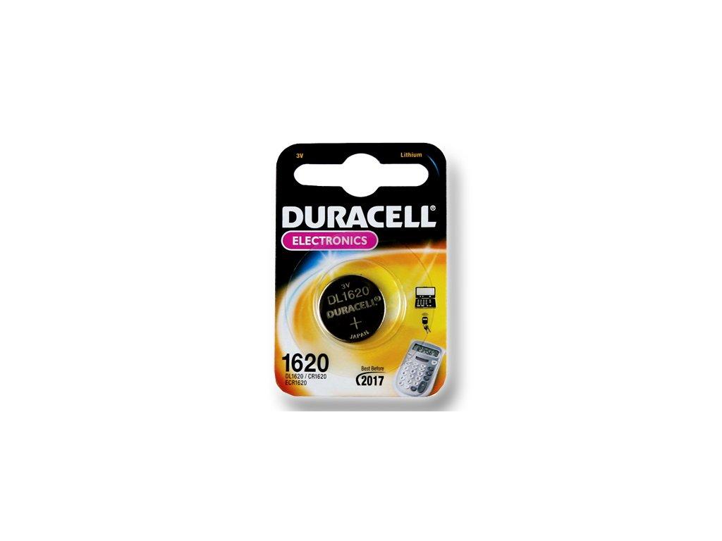 DURACELL knoflíkový článek 3V, CR1620 (DL1620)