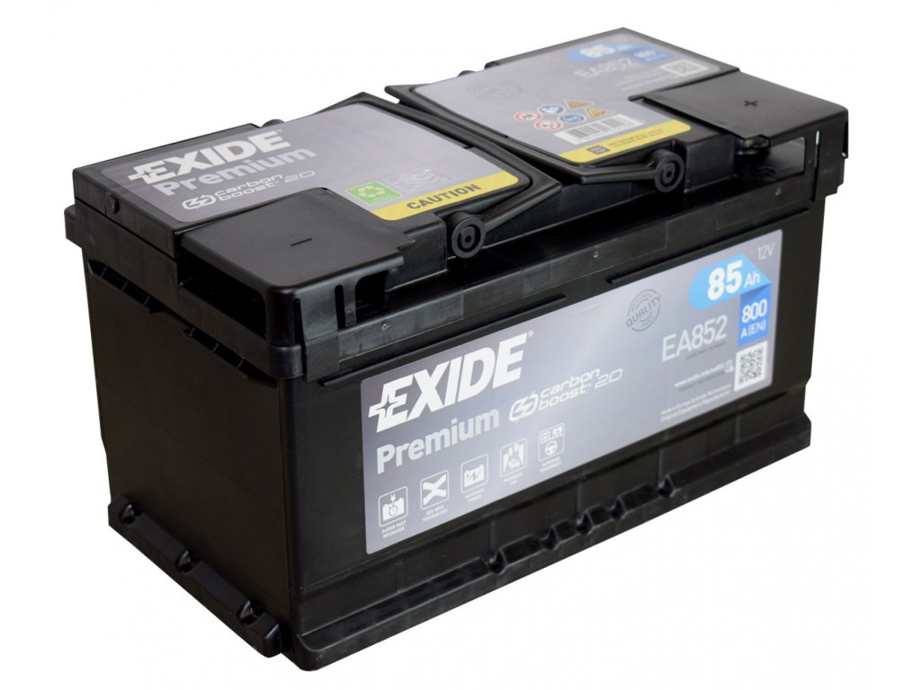 Autobaterie EXIDE Premium 85Ah, 12V, EA852