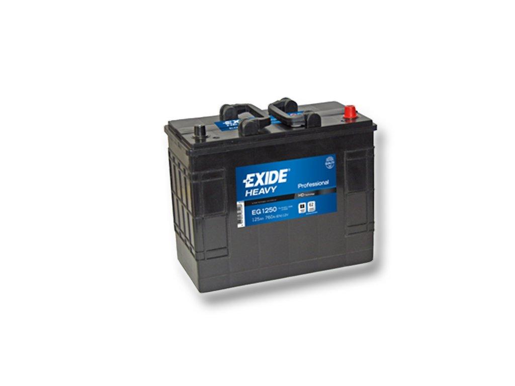 Autobaterie EXIDE StartPRO 125Ah, 12V, EG1250