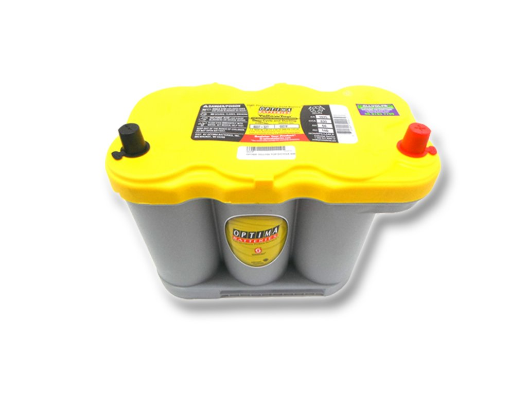 Autobaterie Optima Yellow Top R 5.0, 66Ah, 12V (837-327)