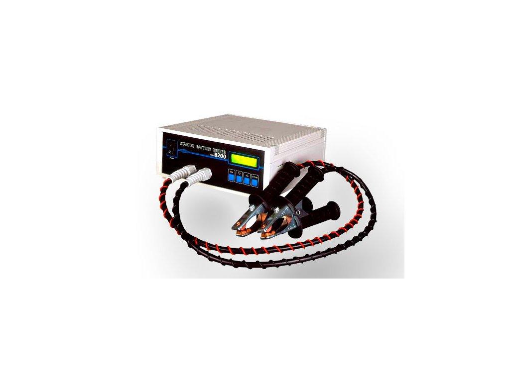 Zátěžový tester baterií řízený mikroprocesorem B200
