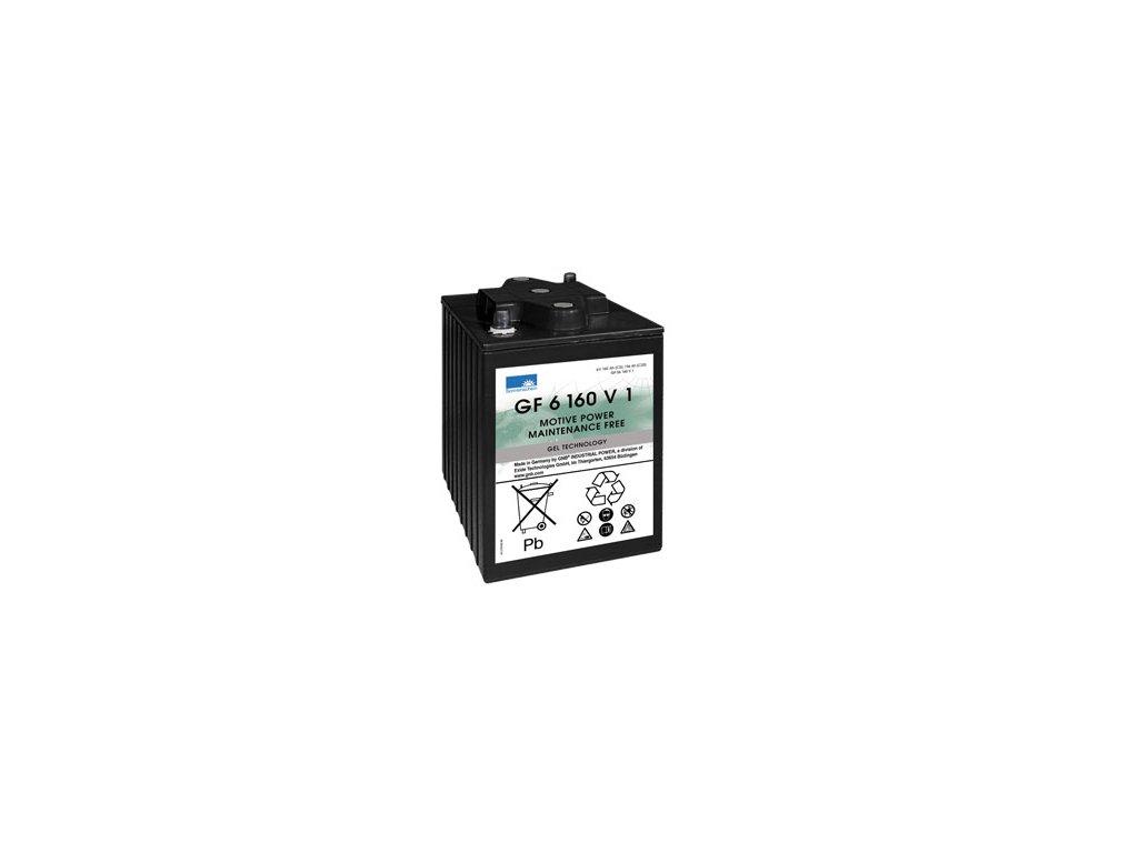 Gelový trakční akumulátor SONNENSCHEIN GF 06 160 V 1,  6V, C5/160 Ah, C20/196Ah