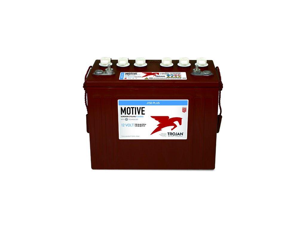 Trakční baterie Trojan J 150 Plus (6 / 6 GiS 125 Plus), 150Ah, 12V